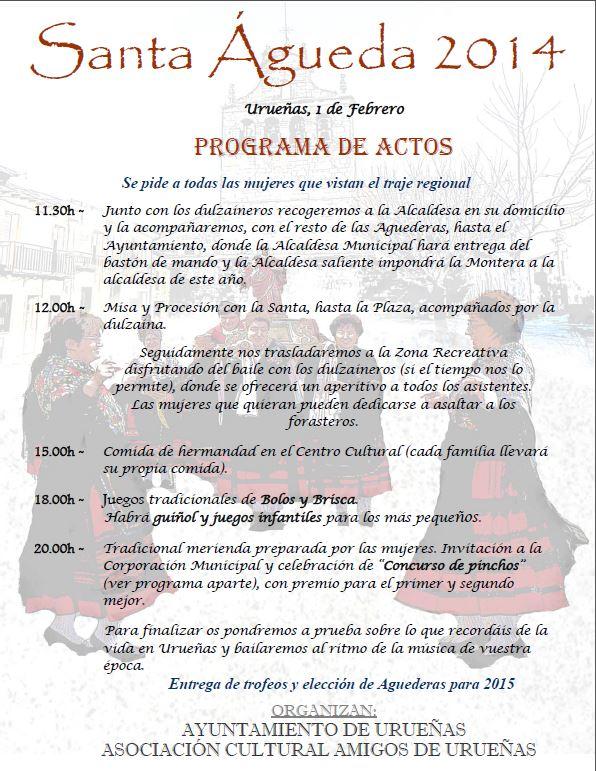 ProgramaStaÁgueda2014